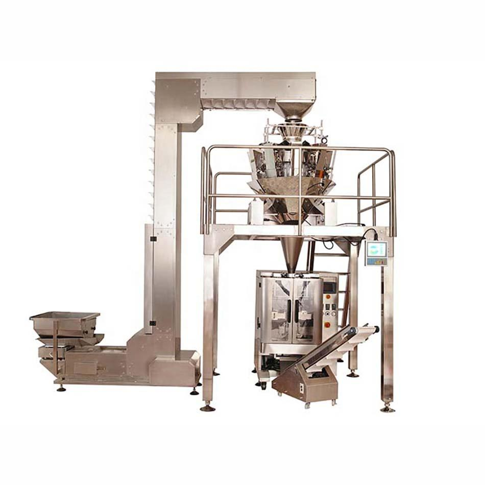 Automatic vertical high efficiency frozen meat packing machine