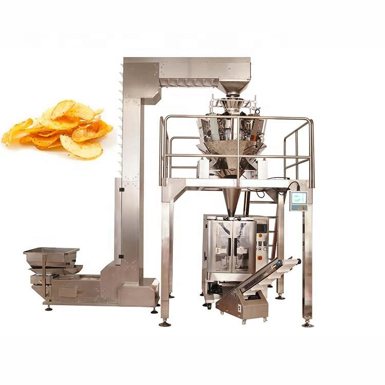High efficiency high quality automatic crisps packaging machine