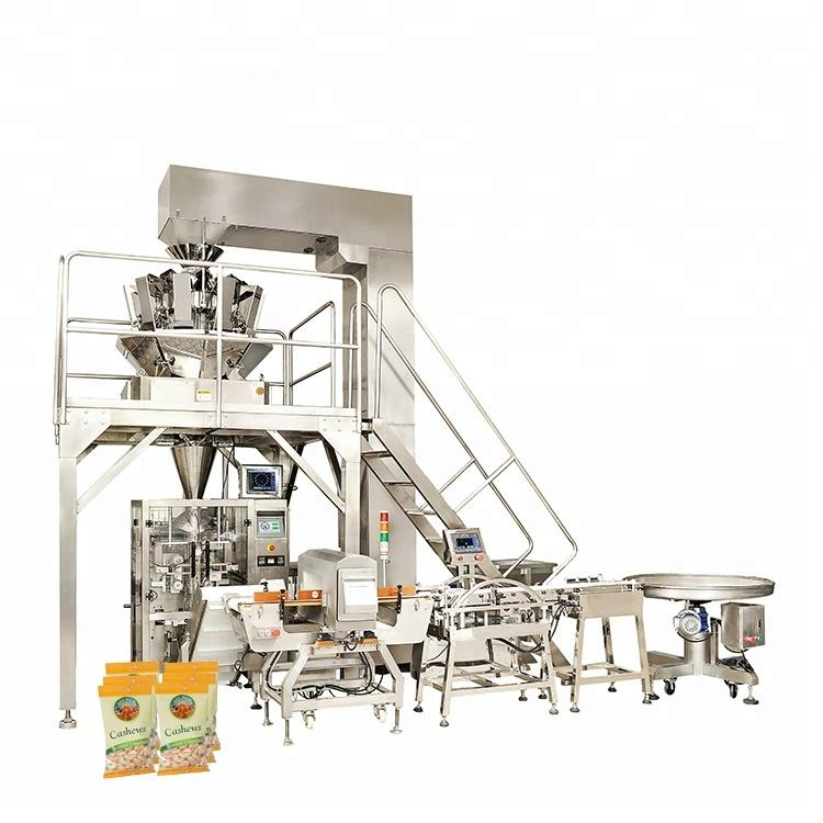 Multi-function ce certificate widely use high speed electric automatic nut packaging machine