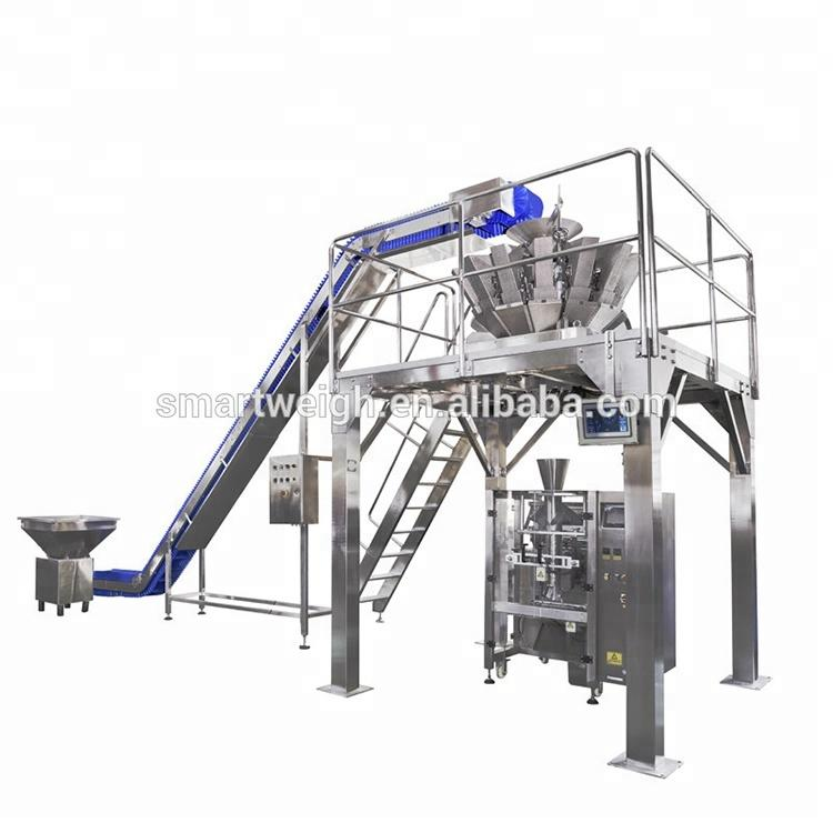 2019 Chinese manufacturer customized frozen shrimp and seafood packaging machine