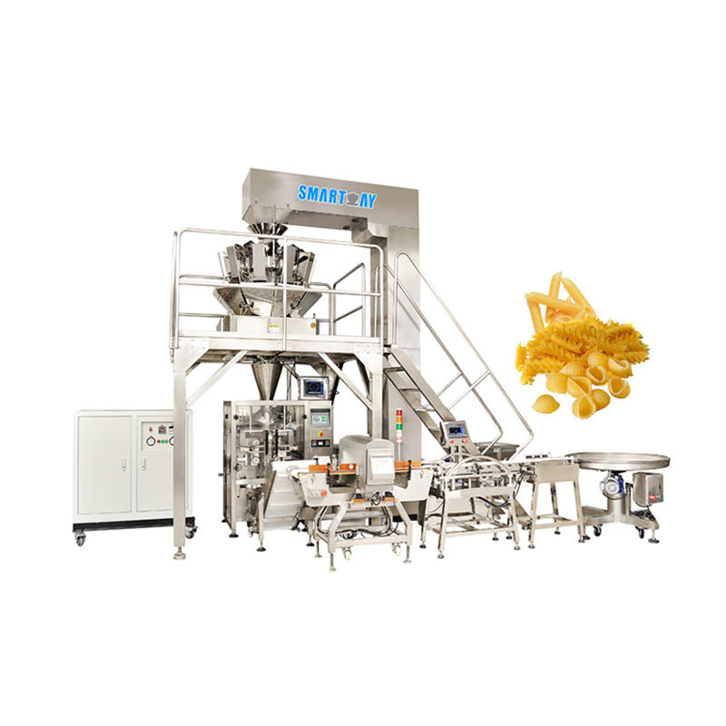 Automatic Dry Pasta Packing Machine With Auto Weighing