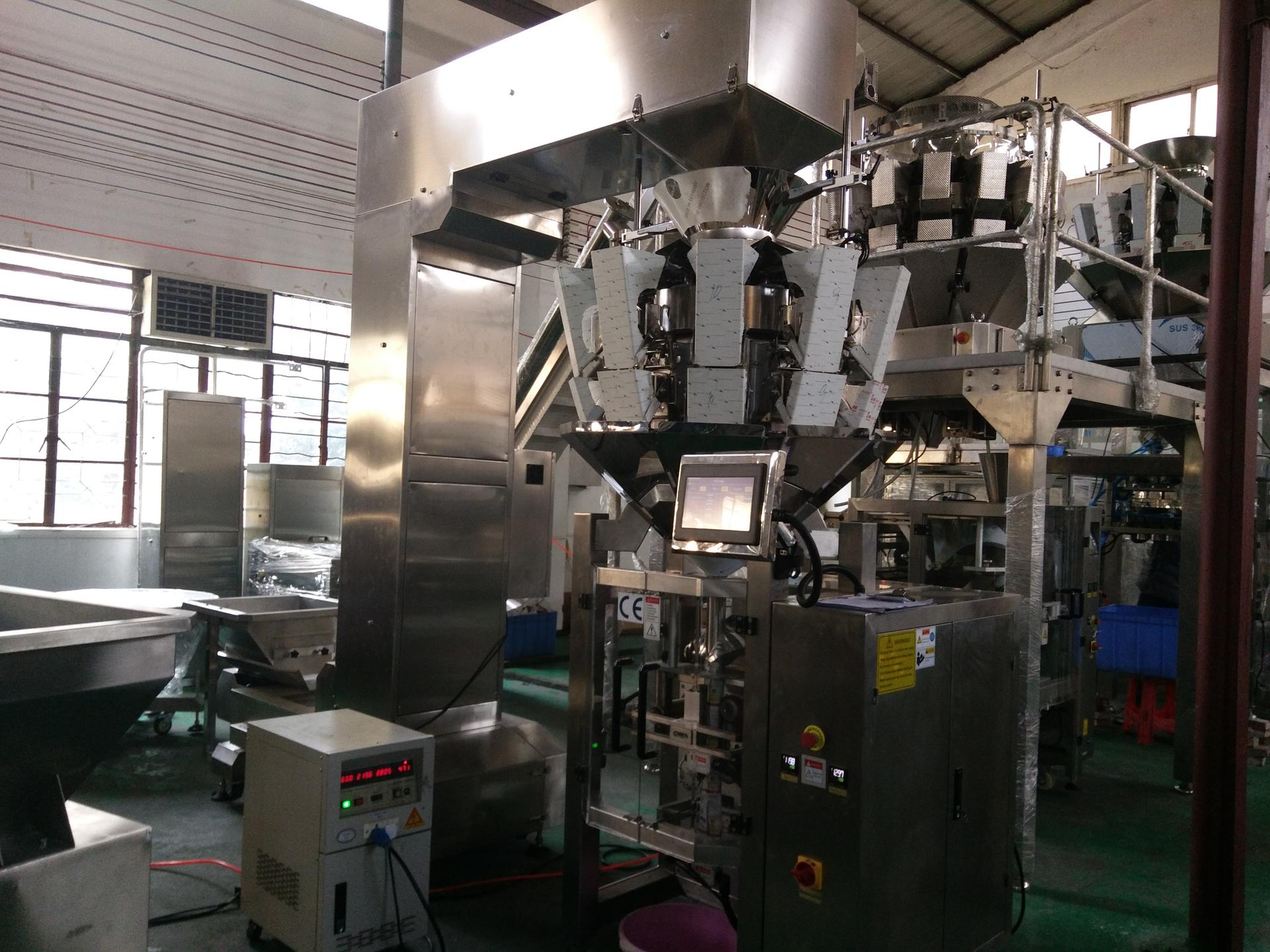 SW-M10P420 Automatic Pillow bagGusset Bag Combine Weighing and Packing Machine for Snack Food/Nuts/Dried Fruit/ Small Granule