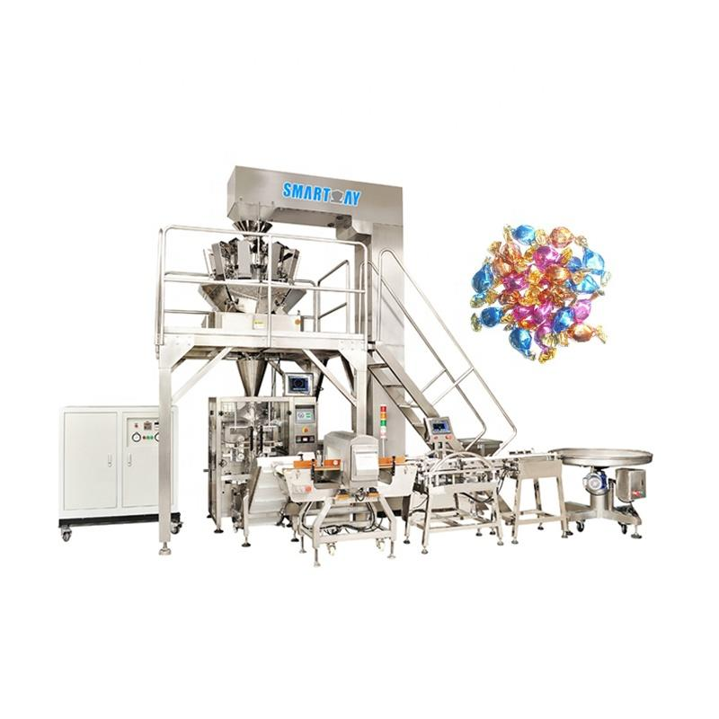 CE Automatic Lollipop Sweet Hard Candy Packing Machine