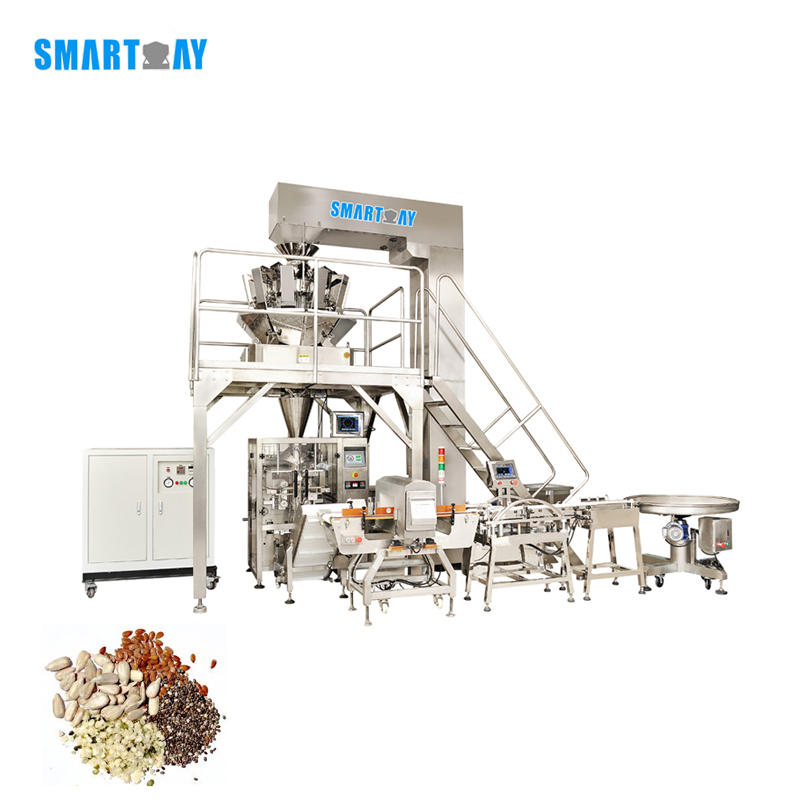 Automatic Melon Sunflower Vegetables Seeds Packing Machine