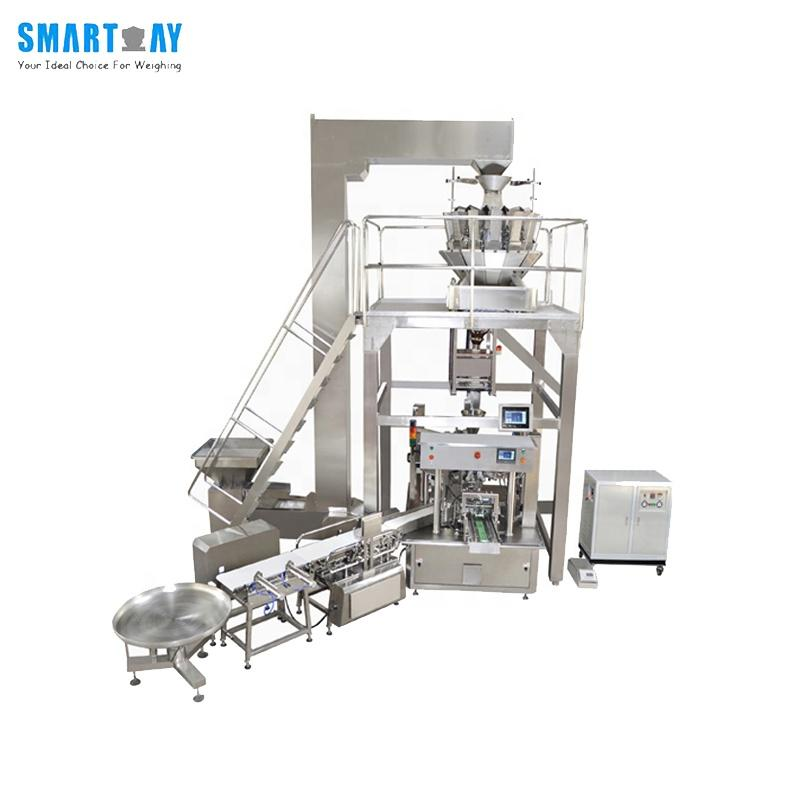 CE Automatic chocolate / candy / dried fruit / nuts / bean packing machine