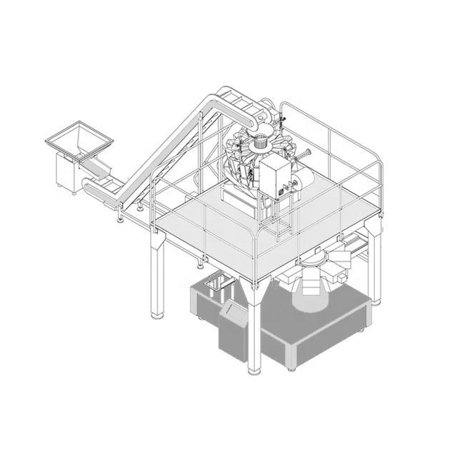 Full Automatic Waterproof Sticky Cheese Rice Cake Vacuum Packing Machine