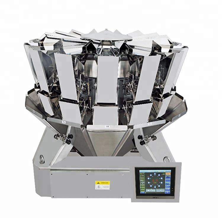 Automatic high accuracy dried meat biltong beef jerky packing machine