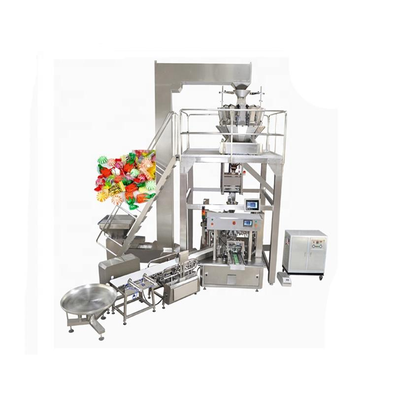 Automatic rotary chocolate candy cotton candy chocolate bean chocolate packing machine
