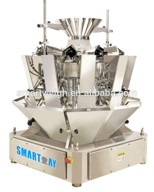China Manufacturer Wholesale 1.6L Hopper 10 Head Coffee Beans Multihead Weigher