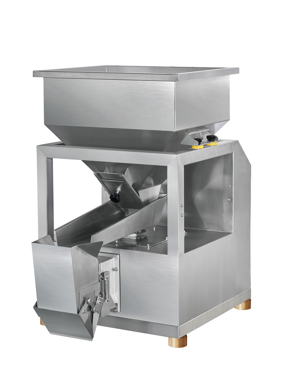 CE One Head Linear Weigher For Granule/Bean/Grain/Rice/Nuts