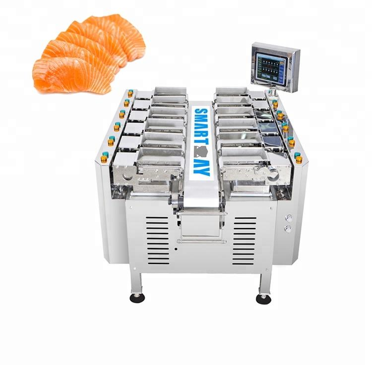12 Head Linear Combination Weigher/Multihead Weigher for Pork/Meat/Chicken Meat
