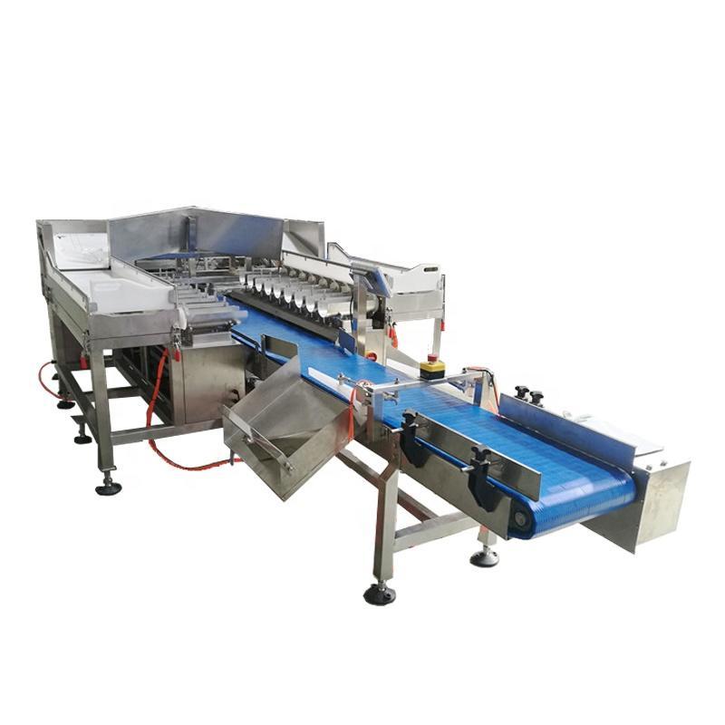 Automatic Frozen Fish Fillet Weigher Machine Fish Packing Machine