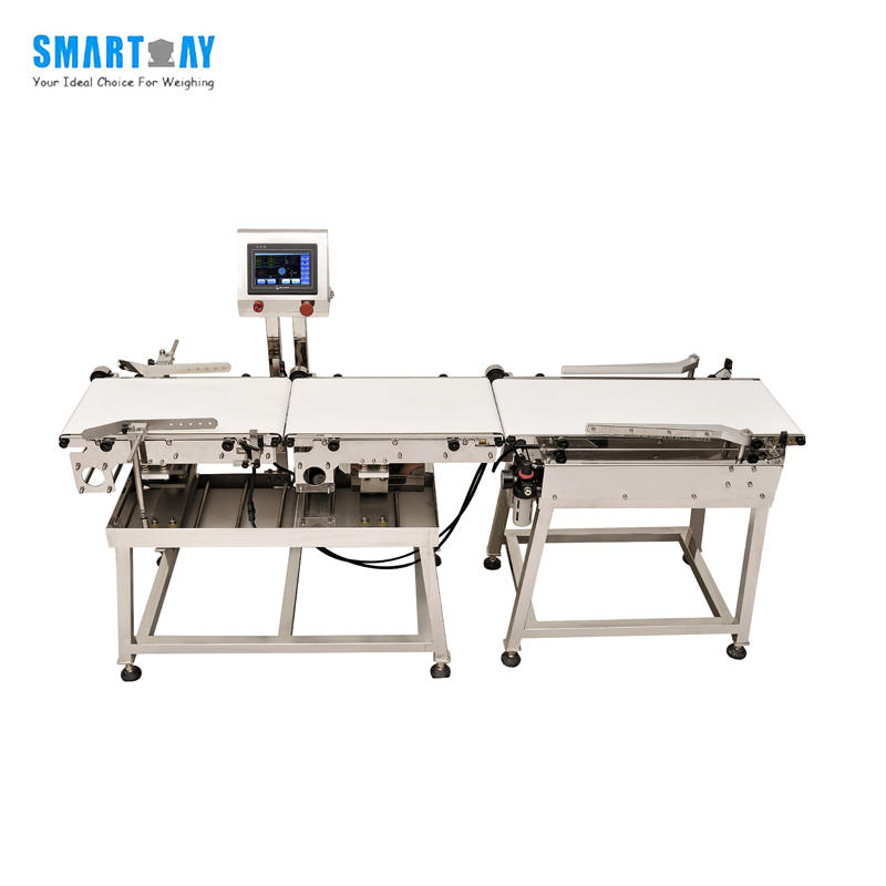 Food Industry Online Automatic Checkweigher With Rejection Function