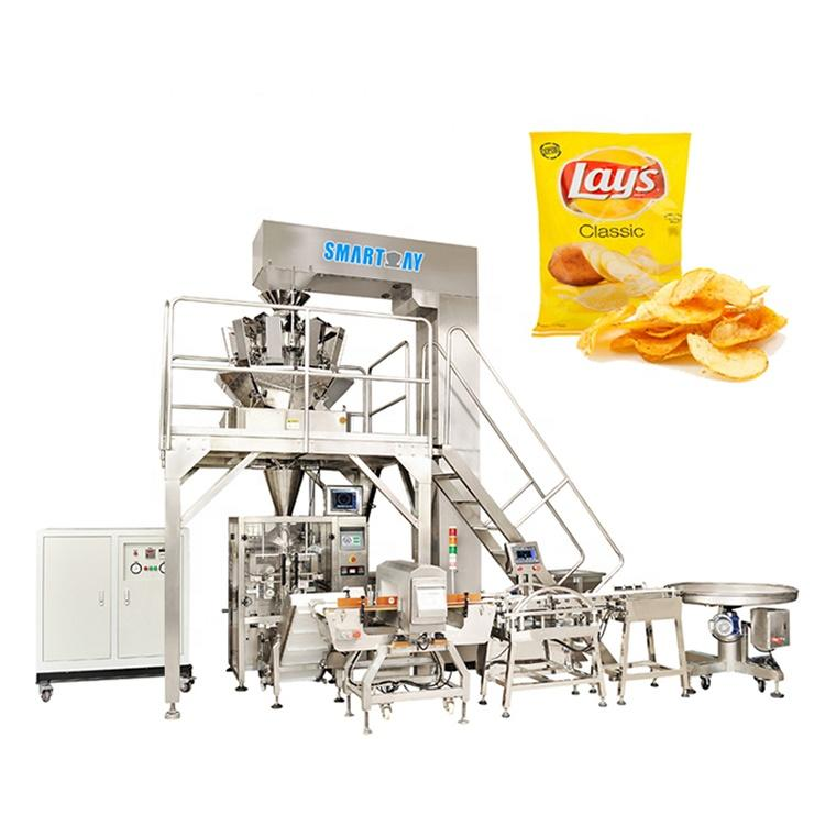 Best selling products 2020 pillow bag snack packaging machine for chips