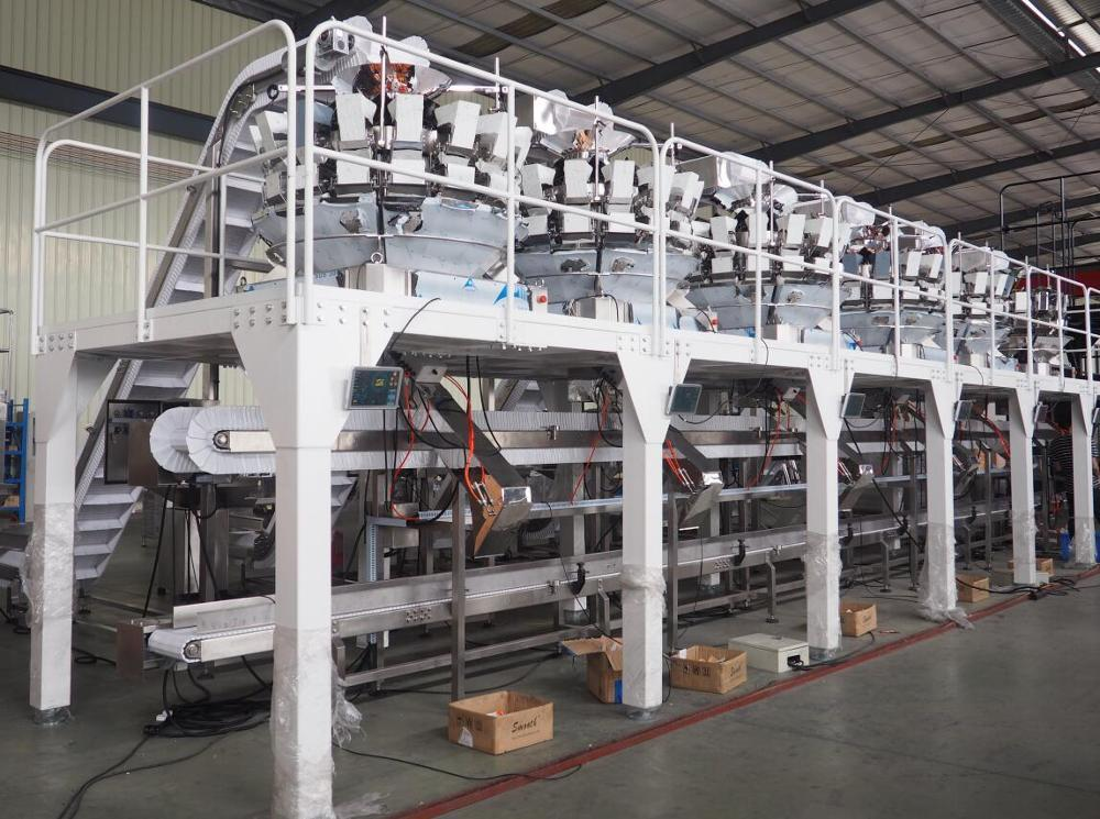 CE Automatic Box/Carton Filling Line/Bag in Box Filling Line