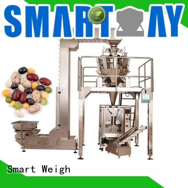 Smart Weigh station food packing machine for food weighing