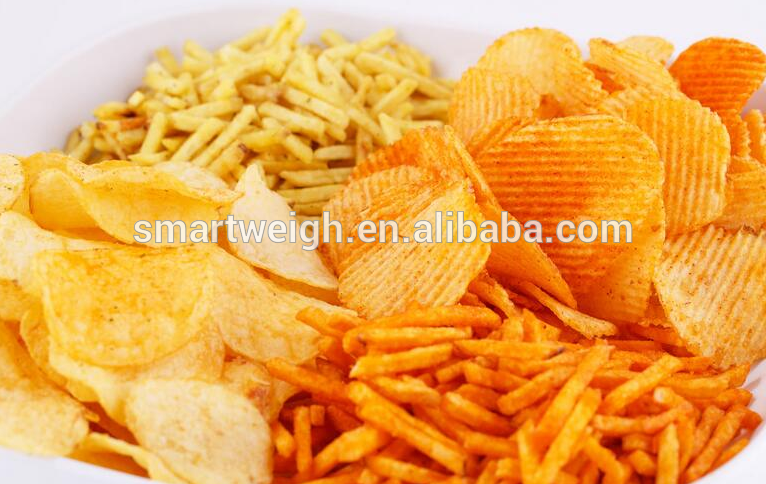standard combined weighing Pillow Bag Automatic Potato Chips Packaging Machine Price