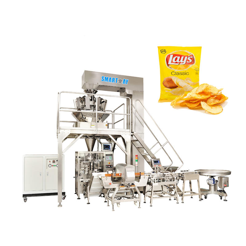 SMART WEIGH Automatic Small Potato Chips Packing Machine