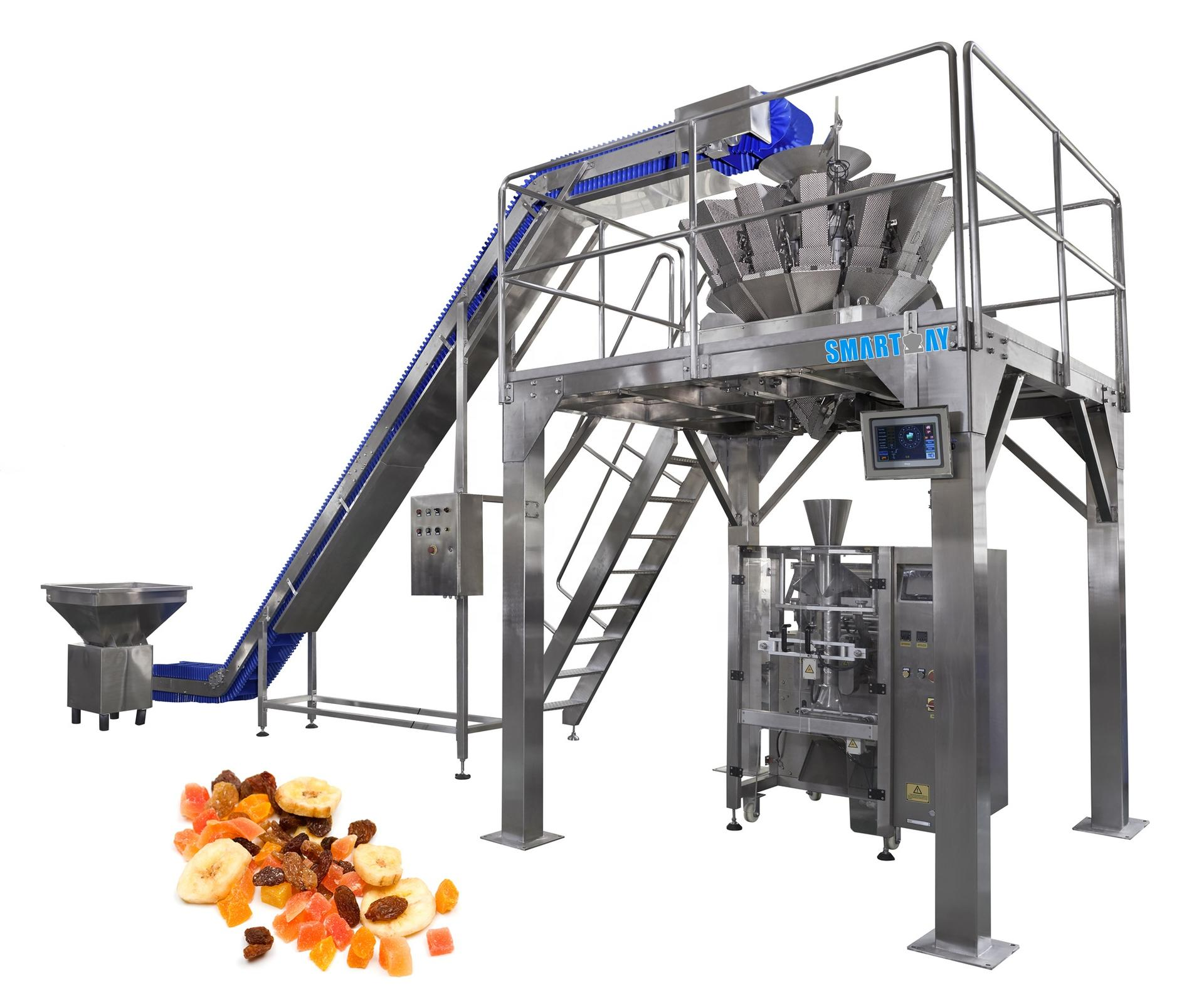 Popular promotions high performance rice weighing and packaging machinery