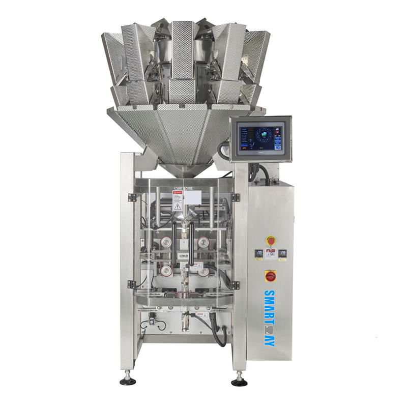 Multifunctional Standard weighing and packaging machine with 10 head multihead weigher