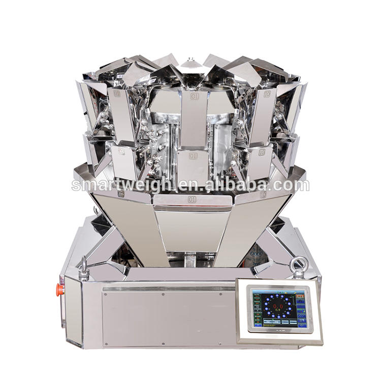 Multihead weigher sw-ms10 compact 10 head weigher
