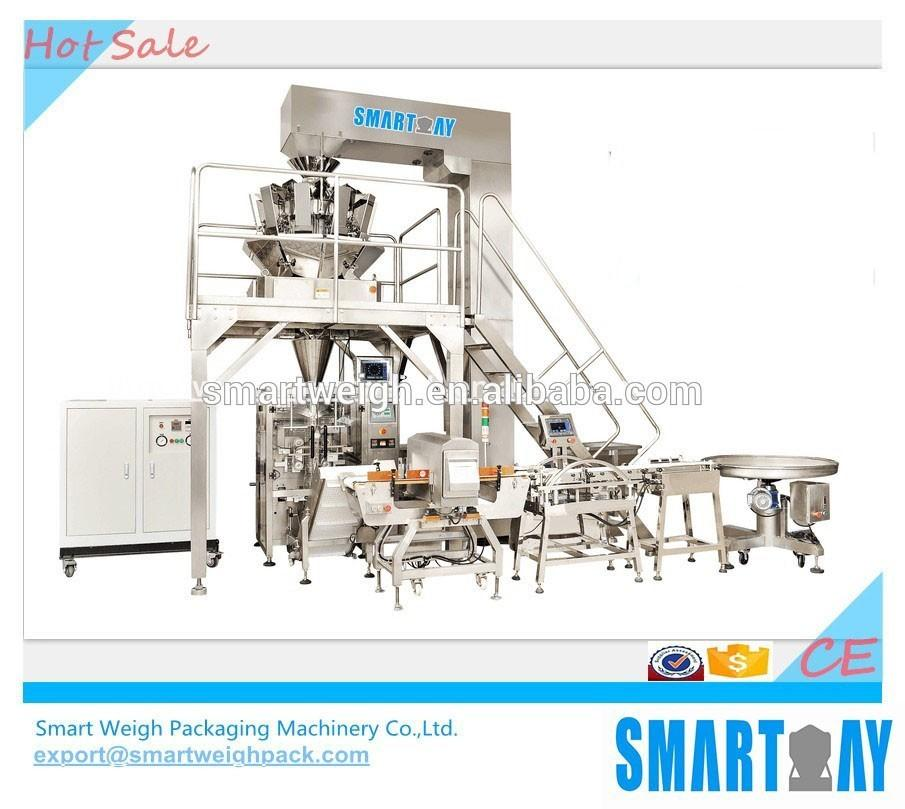 SW-M10 Packaging Machine Multihead Weigher and Line for Rice