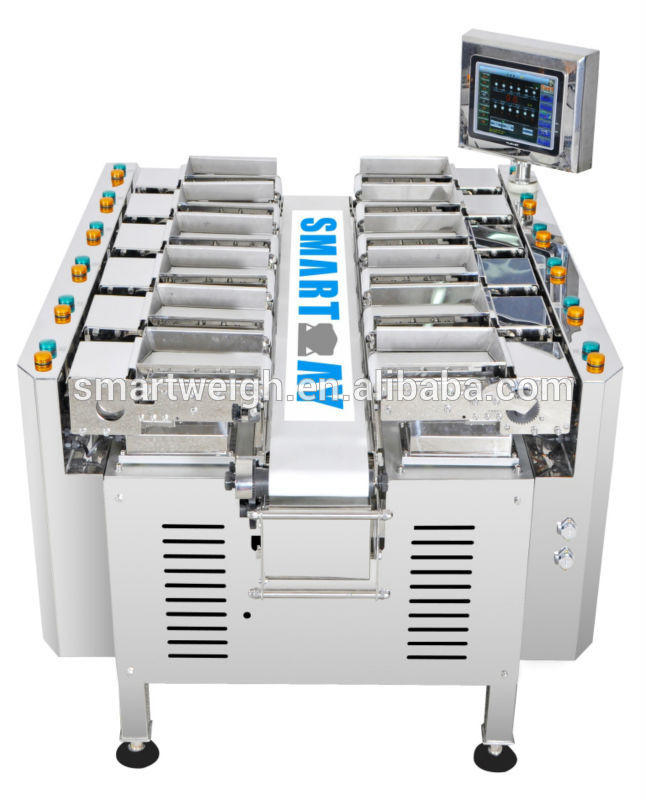 SW-LC12 CE approved Onion/Potato linear weigher with weighing
