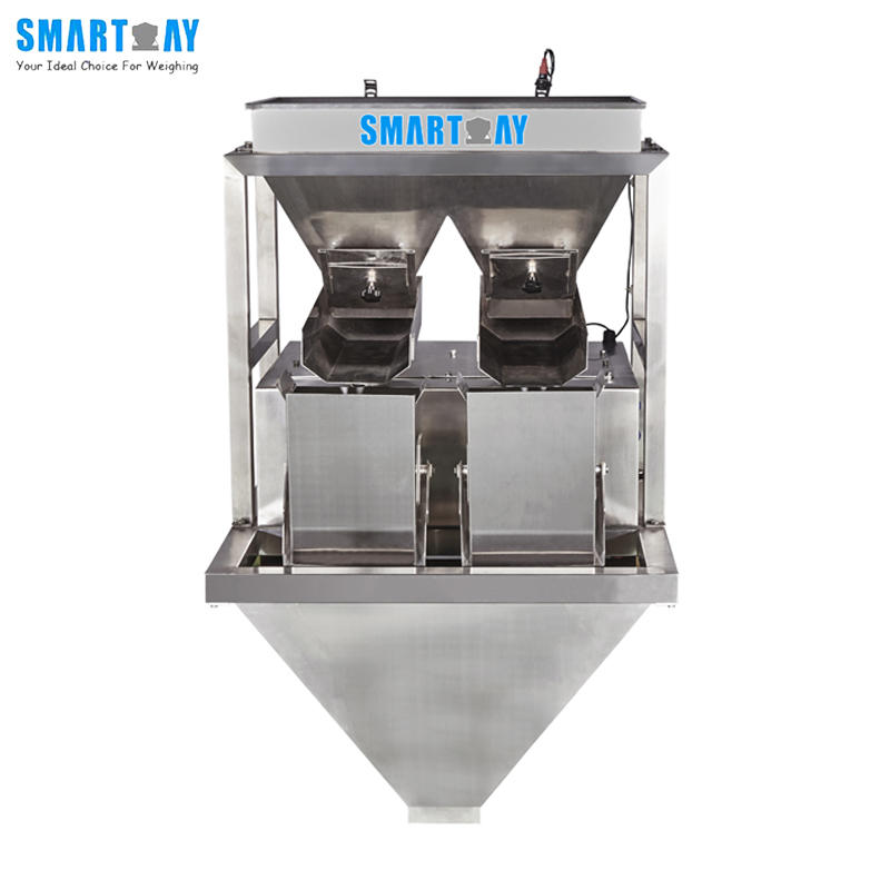 Smart Weigh 2 Head Linear Weighing Hopper Scale