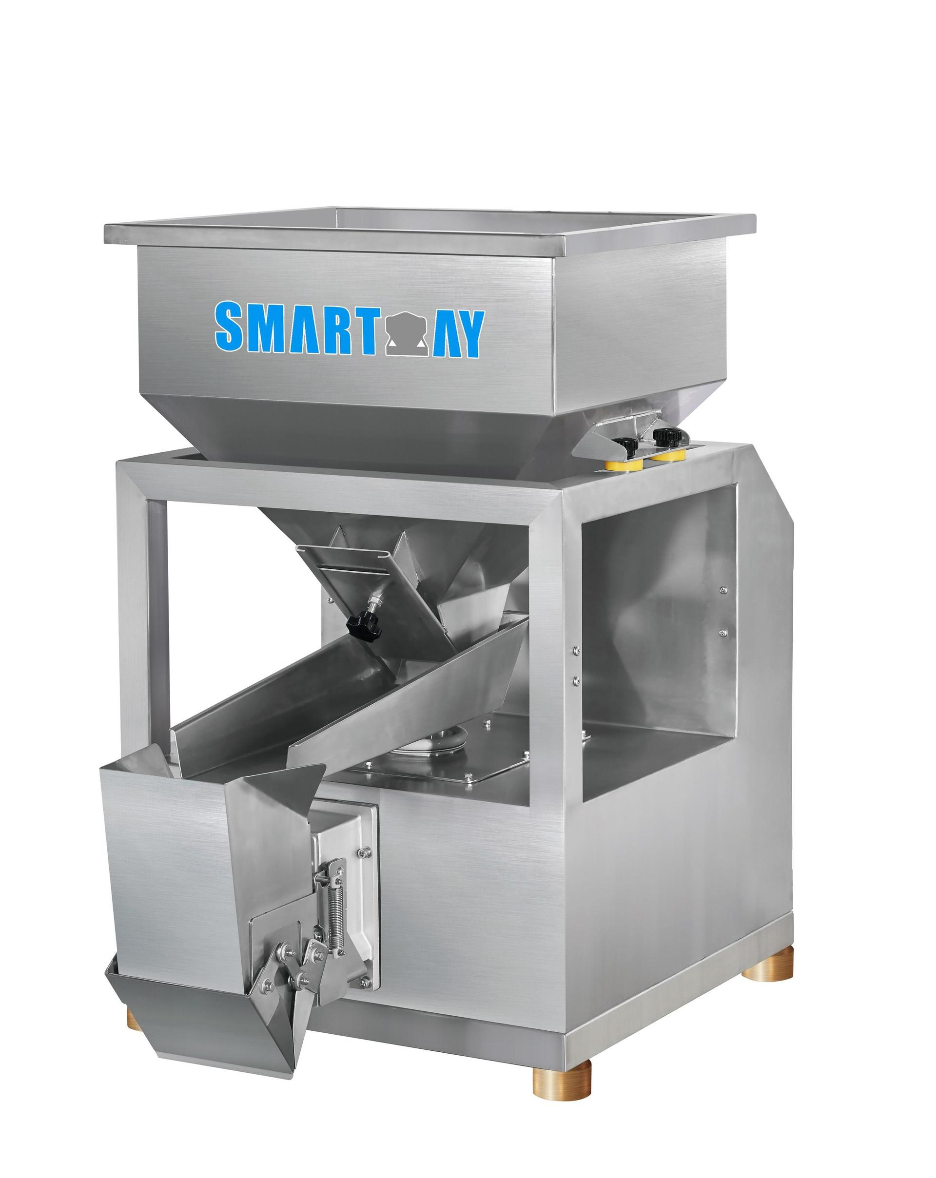 Linear Weigher Filling Machines  Digital Multihead Electronic Weighing