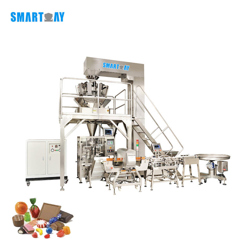 Multihead weigher packing machine confectionery packaging machine powder multihead weigher