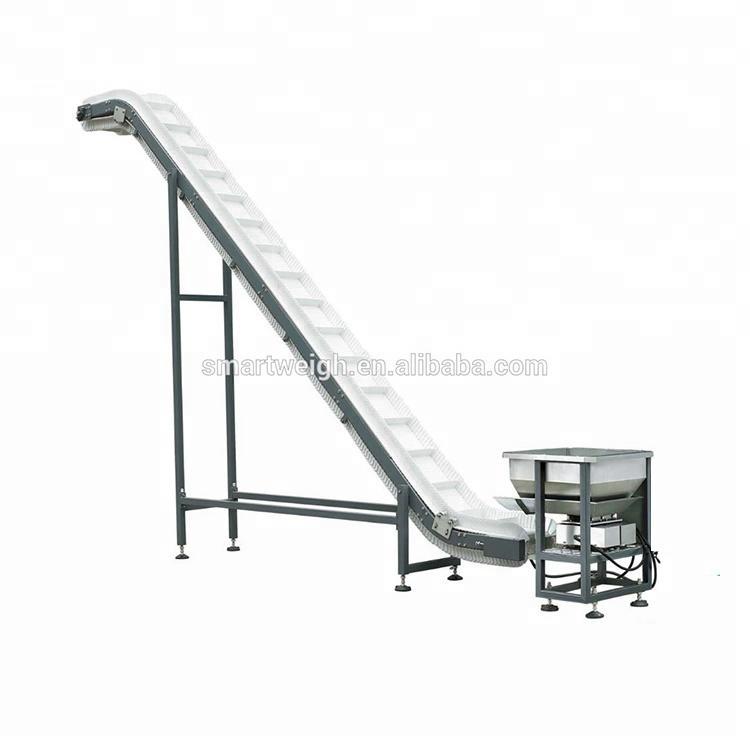 2018 hot sale food grade belt food incline conveyor