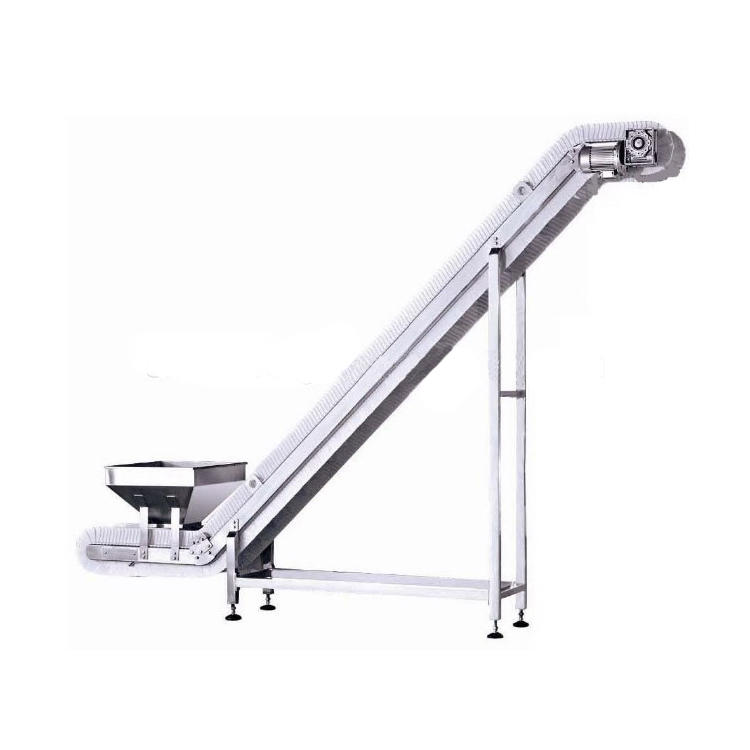 Incline Conveyor Elevator with Food Grade PP Belt
