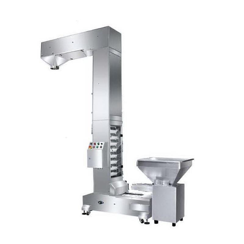 1.6L Full Auto Plastic Bucket Elevator / Infeed Bucket Conveyor for Vertical Conveyor Systems