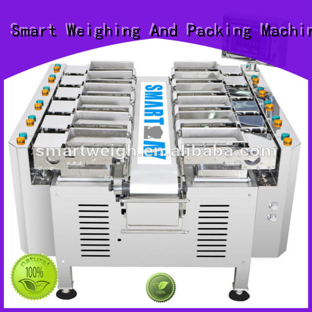 Smart Weigh steady multihead weigher suppliers for food labeling