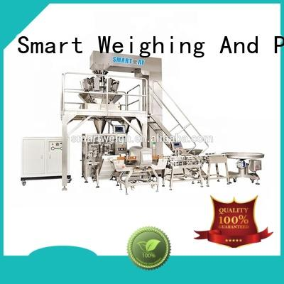 Smart Weigh seal vertical vacuum packaging machine supply for salad packing
