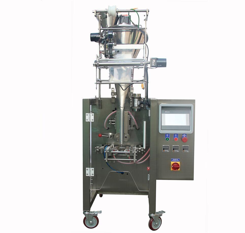 Automatic Chili Oil Sauce Filling Machine / Liquid Packaging Machine Side Seal Sachet Packing Machine
