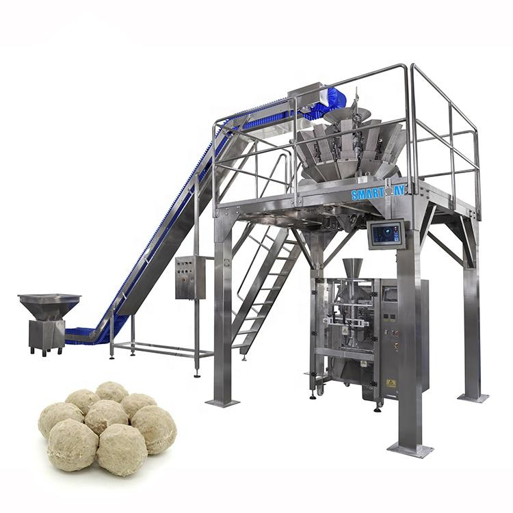Factory direct sales vertical packing machine with multihead weigher