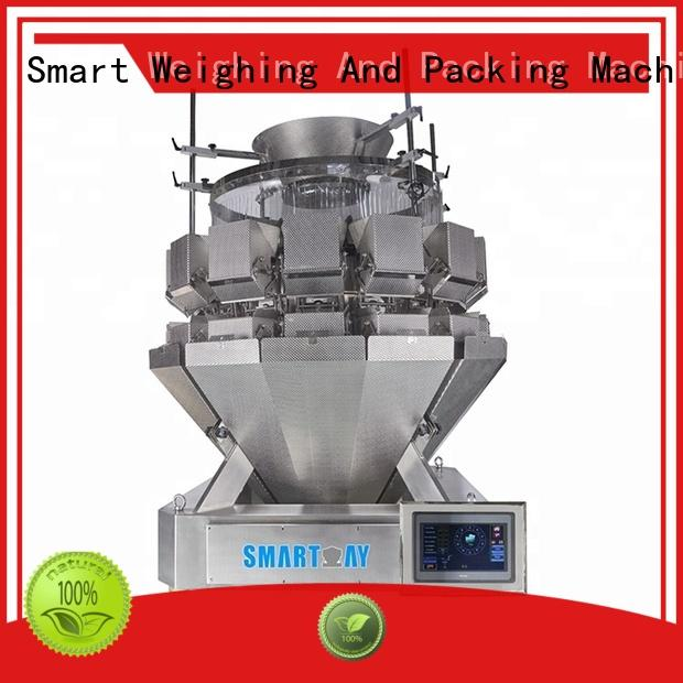 Smart Weigh vegetables chinese multihead weigher with good price for food packing