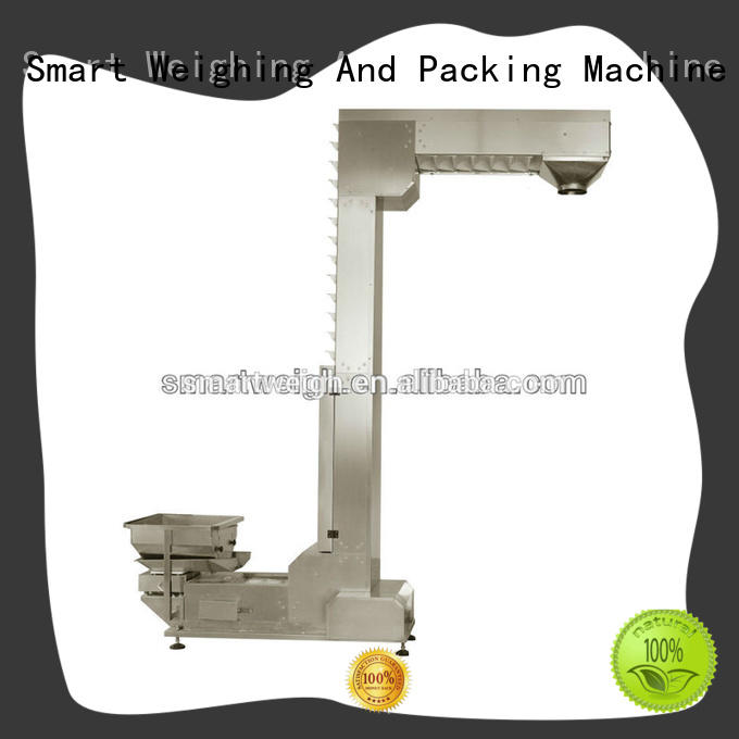 Smart Weigh weigh output conveyor with cheap price for food packing