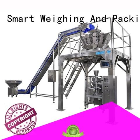 Smart Weigh stable strip packing machine factory price for food weighing