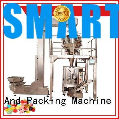 stable film packaging machine station for foof handling