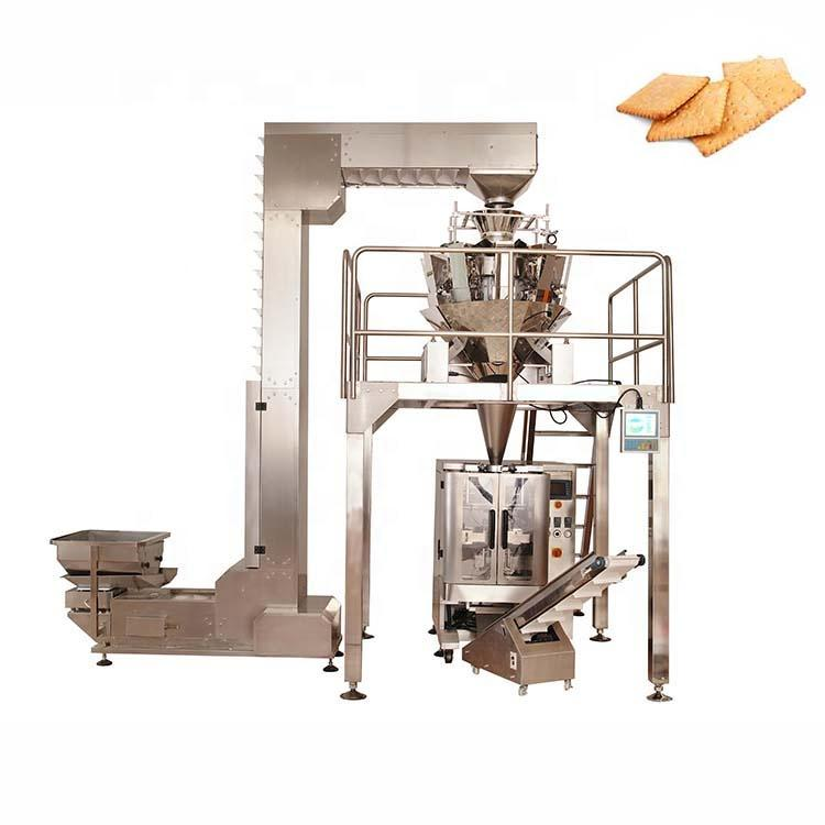 High precision frozen peas packaging automatic vertical packaging machine
