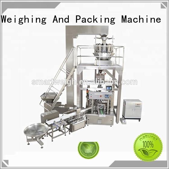 Smart Weigh nuts for chips packing