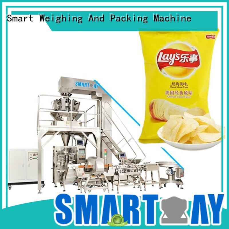 Smart Weigh latest vertical pouch packing machine supply for food weighing