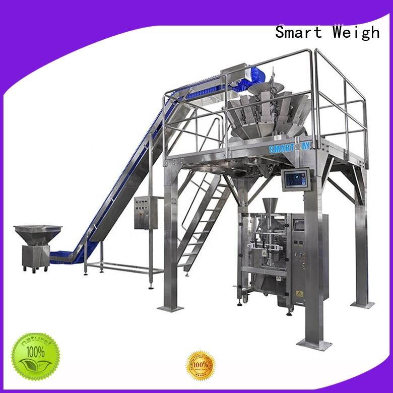 Smart Weigh station vacuum packing machine in bulk for food packing