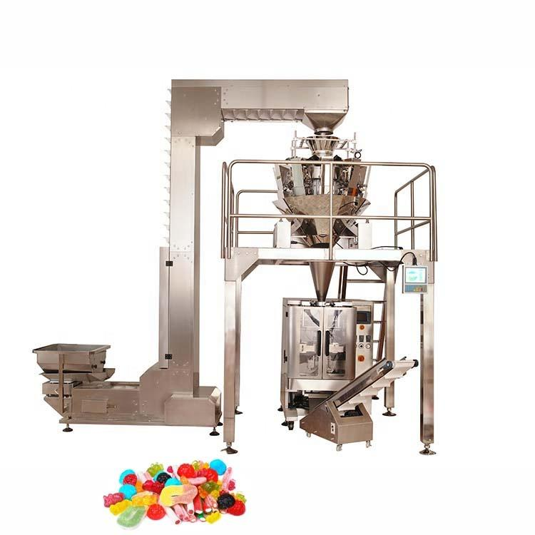 Reasonable price high precision sugar packing with heads weigher