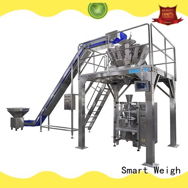 Smart Weigh eco-friendly vffs machine company for food labeling