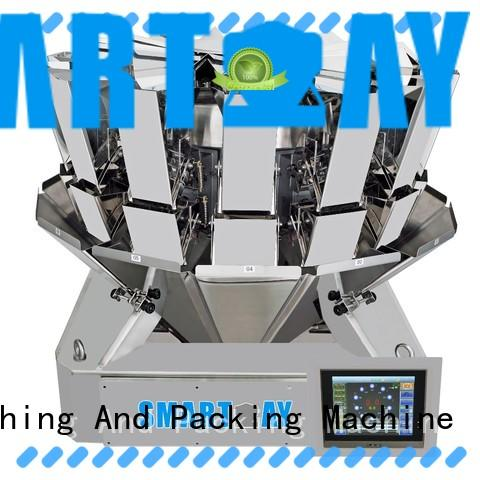 Smart Weigh four multi weigh systems directly sale for food labeling
