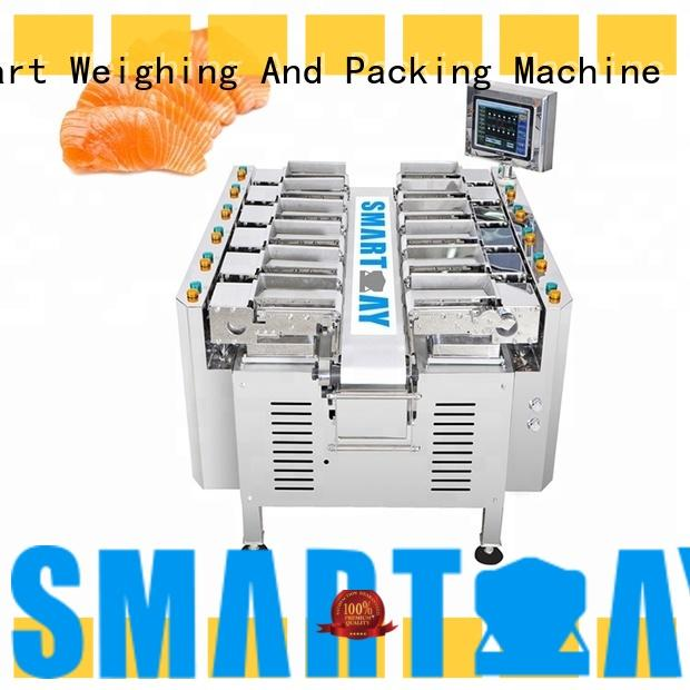 durable multihead weigher scale factory price for food labeling