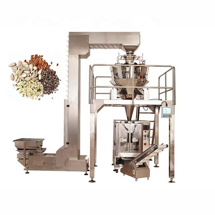 Hot selling automatic vertical dog foodpacking machine with multihead